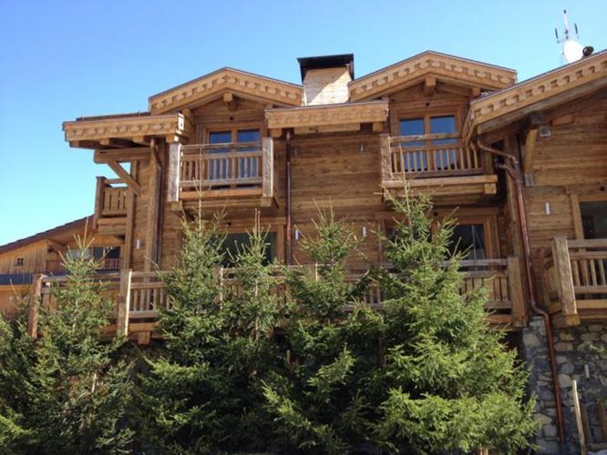 au bois de montagne facade exterieure
